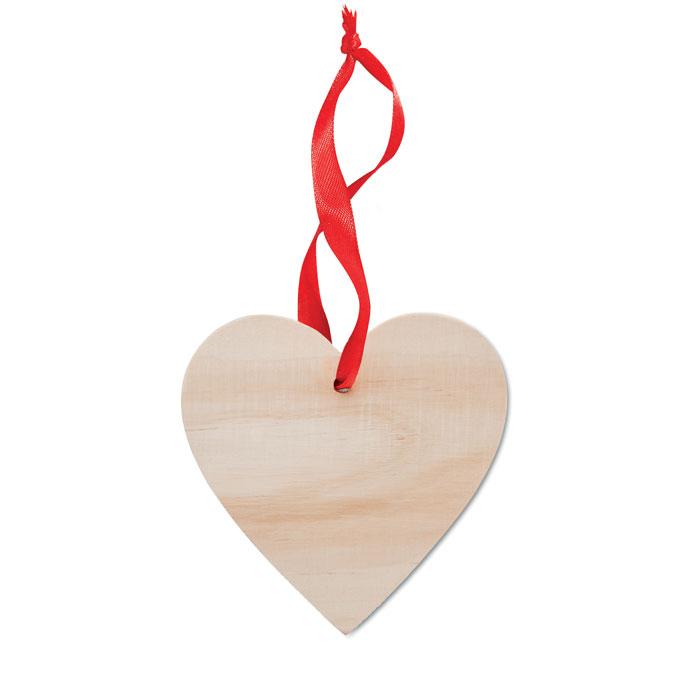 Colgador en forma de corazón WOOHEART