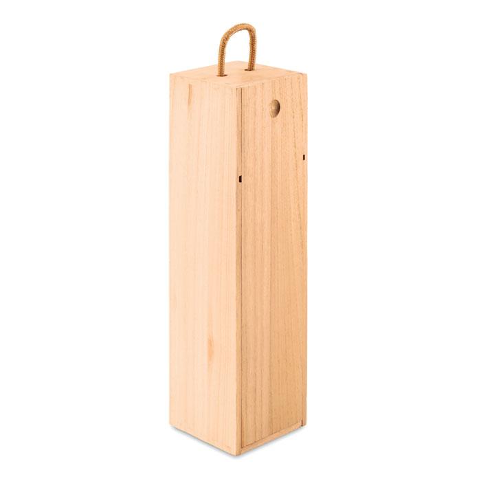 Caja de vino de madera VINBOX