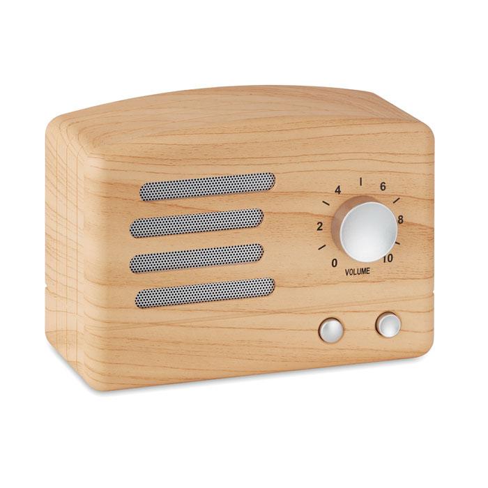 Altavoz Bluetooth tipo madera JACKSON