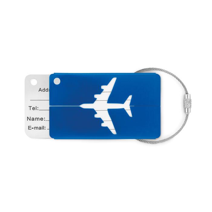 Identificador maleta aluminio FLY TAG