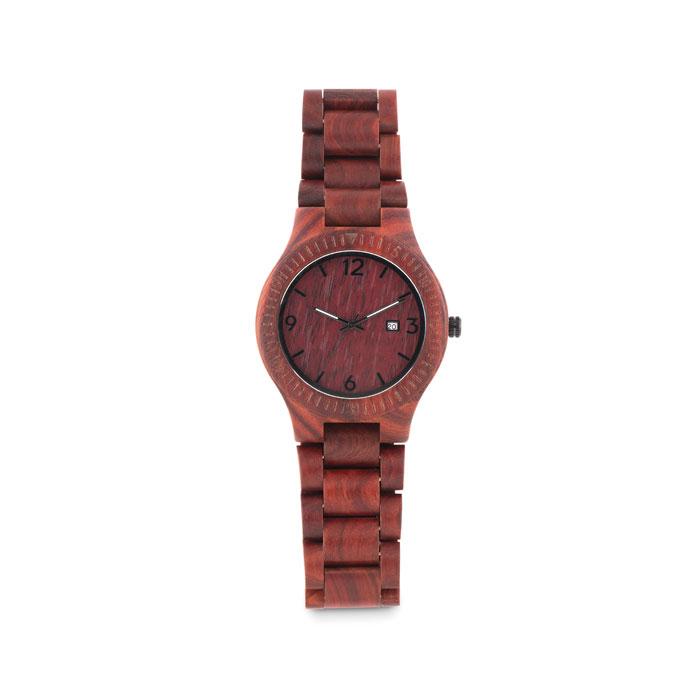 Reloj de madera en caja SAN GALLEN