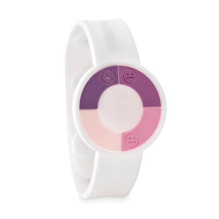 Reloj sensor UV de PVC UV CHECK