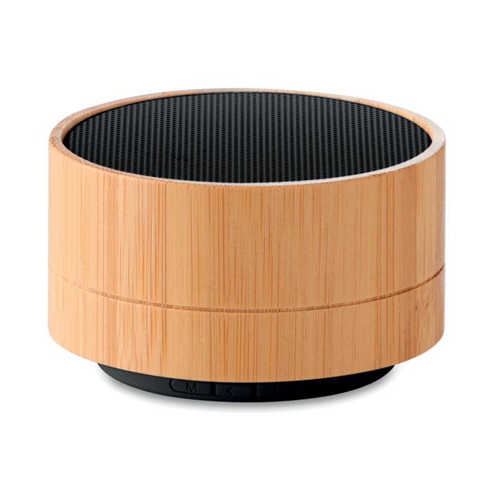 Altavoz Bluetooth bambú 3W SOUND BAMBOO