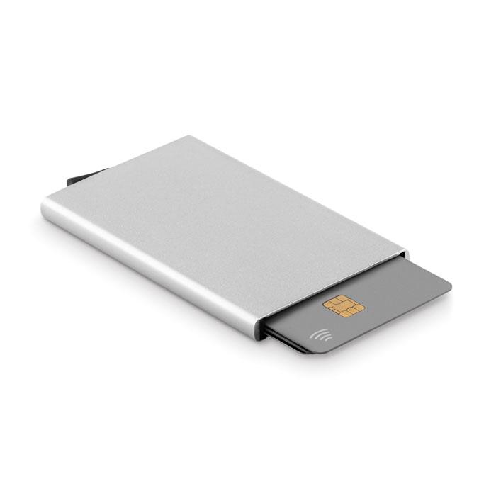 Tarjetero de aluminio RFID SECURPUSH