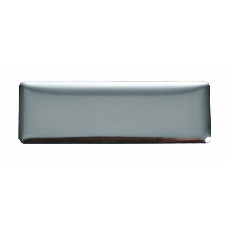 Chapa metálica plate 6x2 grafito