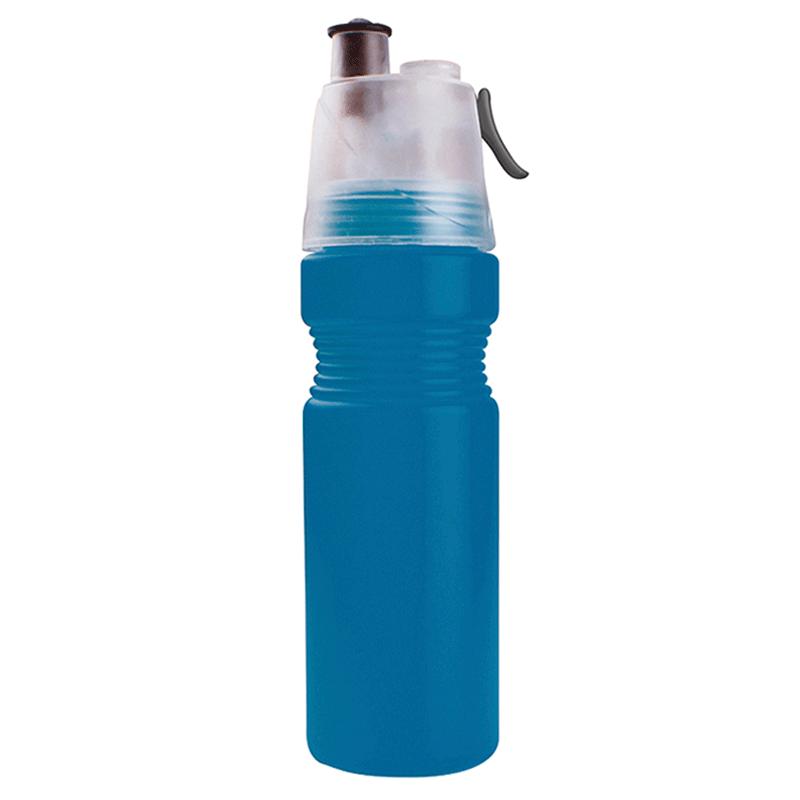 Bidon con spray steam