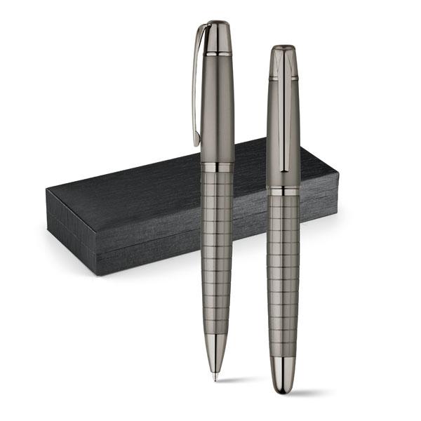 WARHOL. Set stylo roller et stylo à bille.