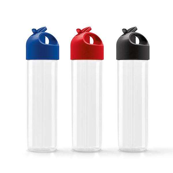 Botella de deporte. Poliestireno y PE. Capacidad: 500 ml.