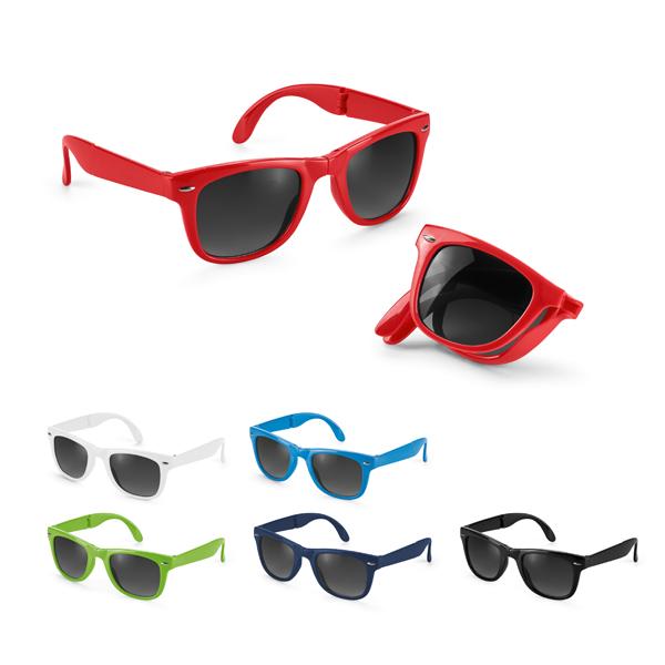 Gafas de sol plegables.