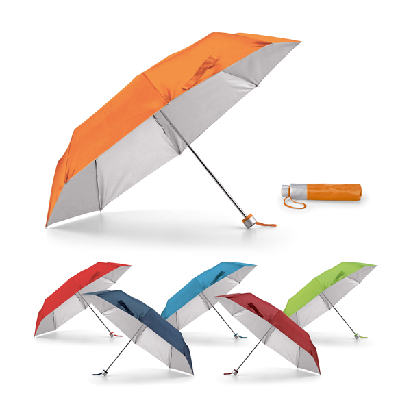 Paraguas plegable.