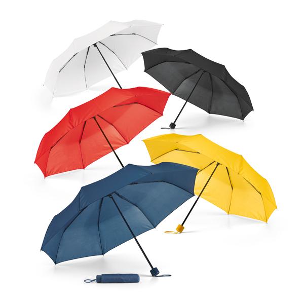 Parapluie pliable.