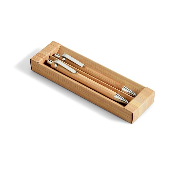 GREENY. Set de bolígrafo y portaminas.