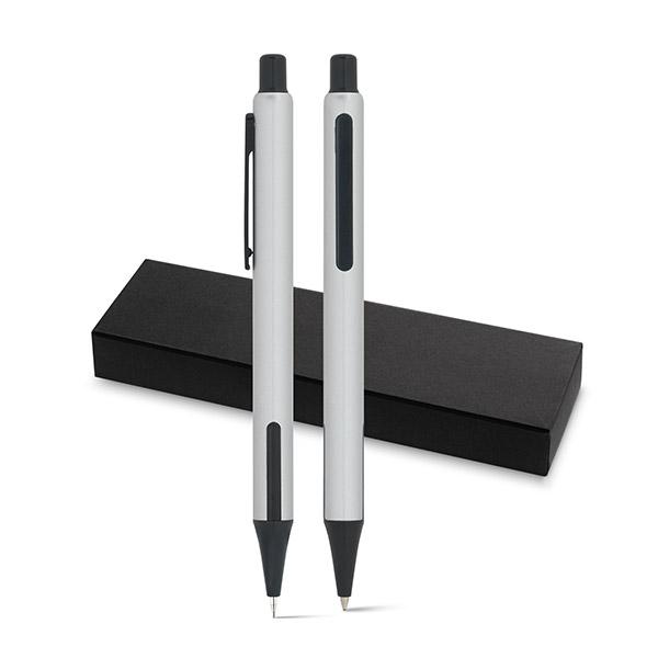 HUDSON. Set de bolígrafo y portaminas.