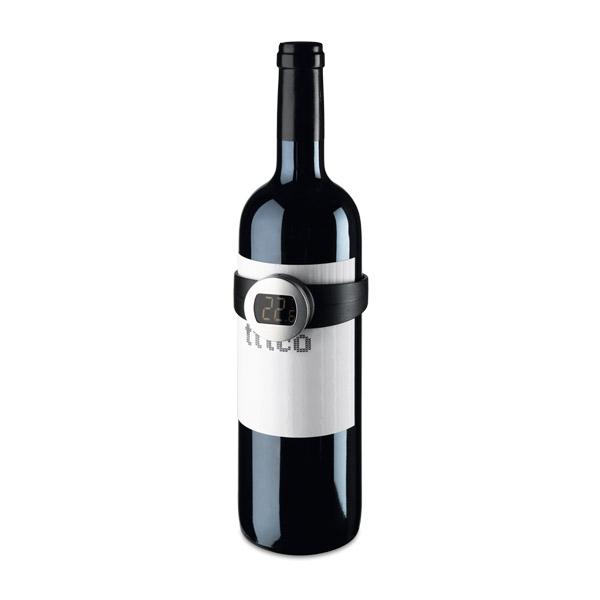 Thermomètre digital pour le vin.