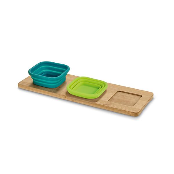 Base de mesa con 3 piezas.