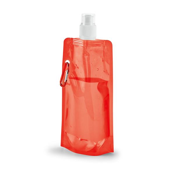 Botella plegable. PE. Capacidad: 460 ml.