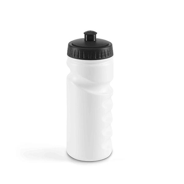 Botella de deporte. HDPE. Con tapón push pull. Capacidad: 530 ml.