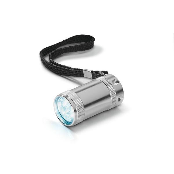 Linterna. Aluminio. LED