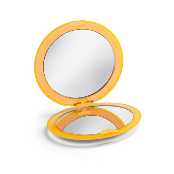 Miroir de maquillage.