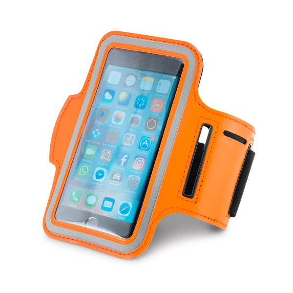 Brazalete para smartphone. Soft shell de alta densidad.