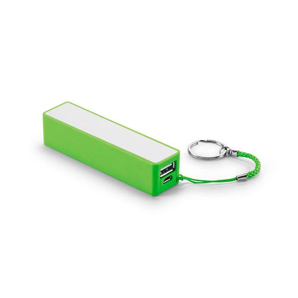 Batería portátil.Capacidad: 2.000 mAh