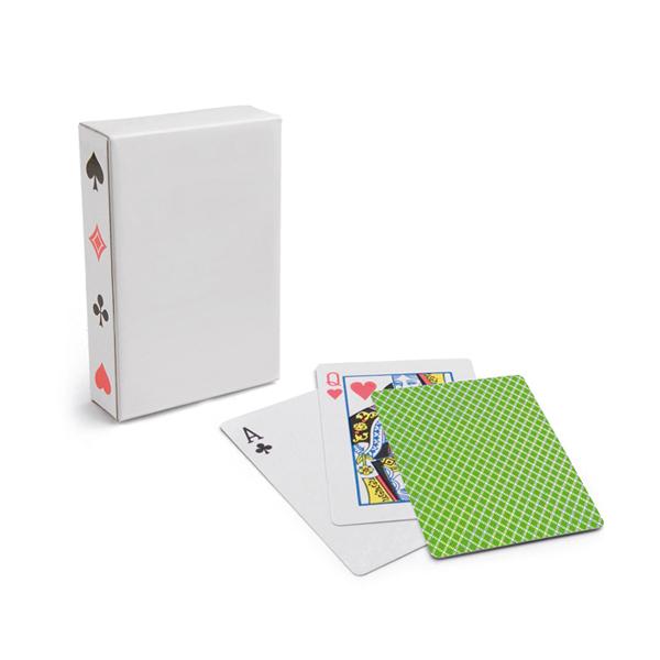 54 cartes à jouer.