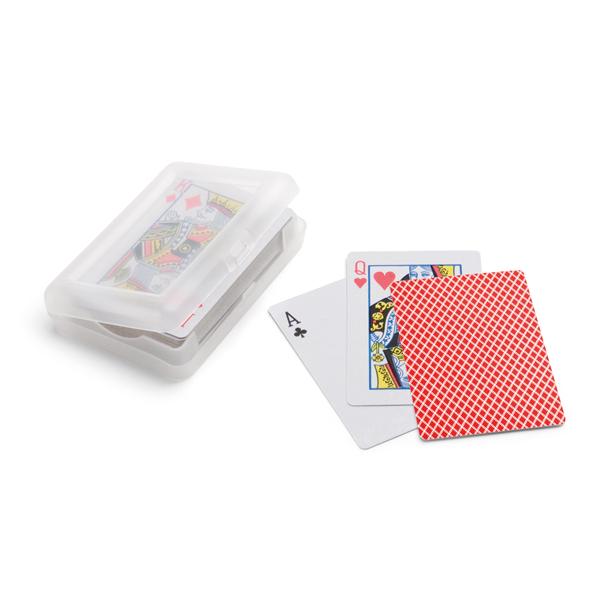 Baraja de 54 cartas.