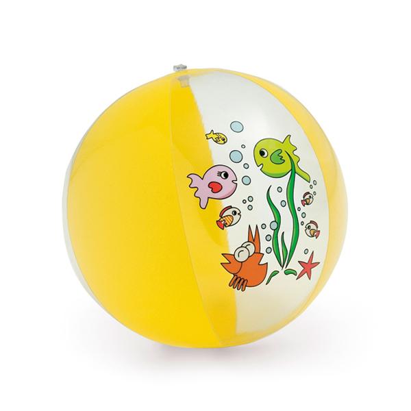 Balón hinchable. PVC opaco/transparente.