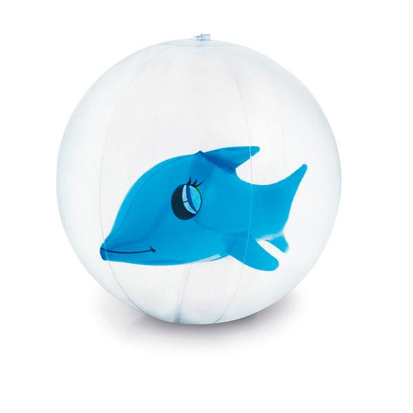 Balón hinchable.Muñeco hinchable en el interior.