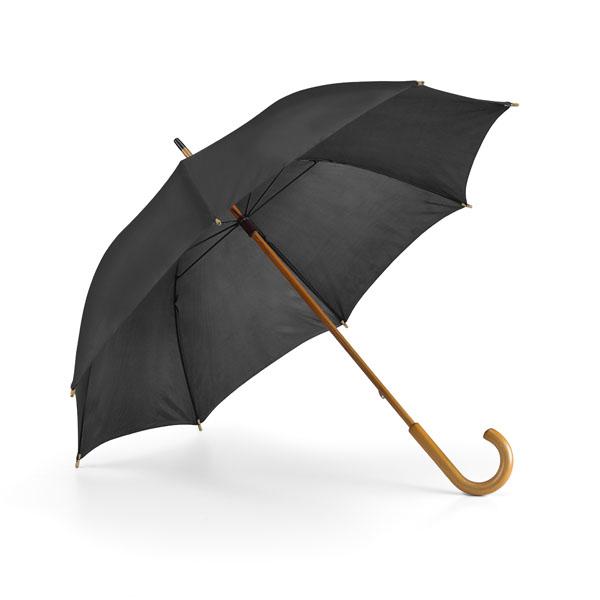 Paraguas. Cabo y mango en madera.
