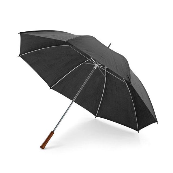 Paraguas de golf. Mango en madera.