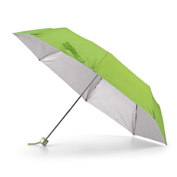 Paraguas plegable. Poliéster 190T. Plegable en 3 partes