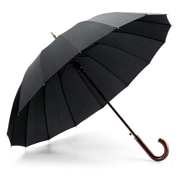 Paraguas de 16 varillas.