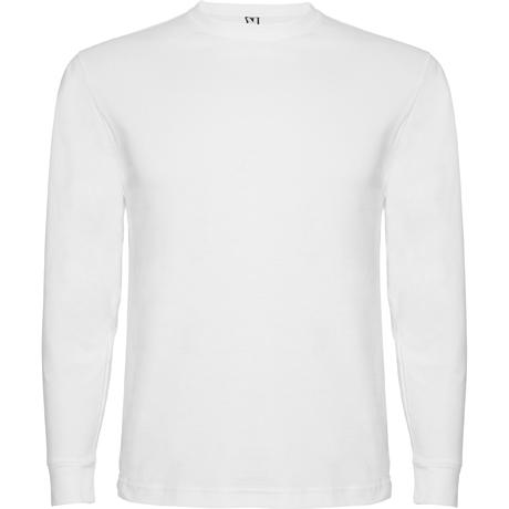 Camiseta de manga larga POINTER. Blanco