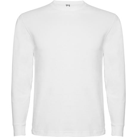 Camiseta niño de manga larga POINTER CHILD. Blanco