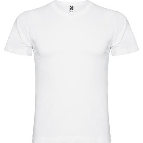 Camiseta de manga corta SAMOYEDO. Blanco