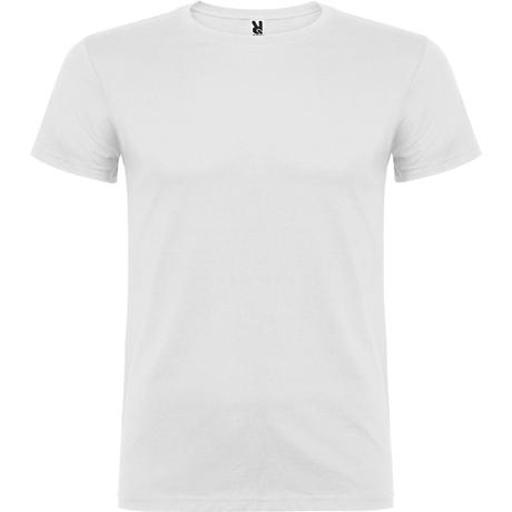 Camiseta de manga corta BEAGLE. Blanco