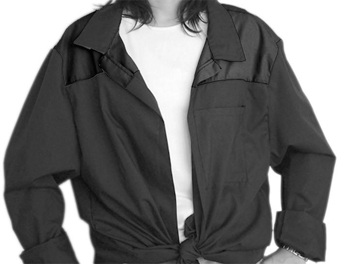 Blusón Cuello Camisa 1 color Niño
