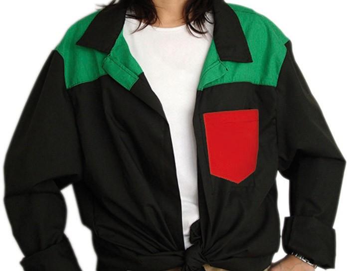 Blusón Cuello Camisa 3 colores Niño