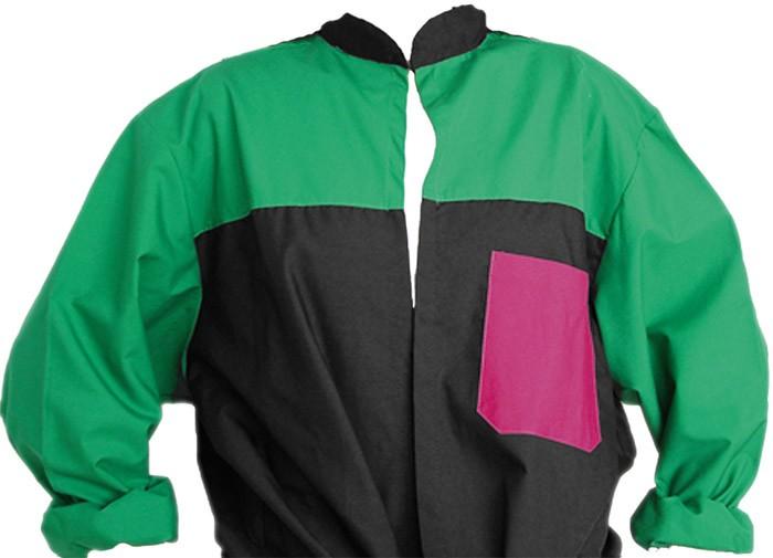 Blusón Personalizado Cuello Mao 3 colores