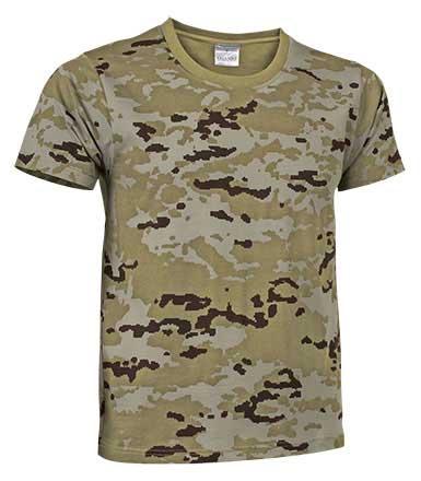 Camiseta unisex m/corta adulto SOLDIER