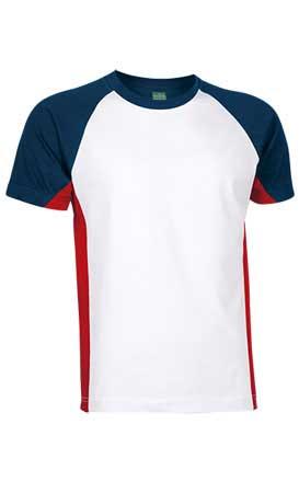Camiseta unisex m/corta ranglán adulto VULCAN