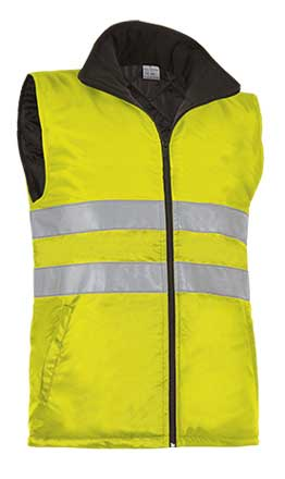 Chaleco alta visibilidad con bolsillos VALCHVAHIGAF