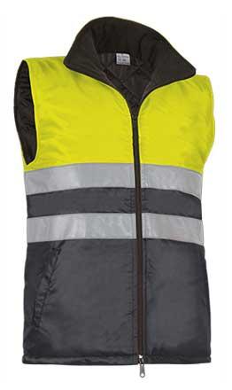 Chaleco alta visibilidad con bolsillos VALCHVAHIGAG