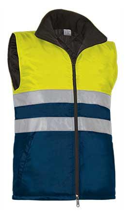Chaleco alta visibilidad con bolsillos VALCHVAHIGAM
