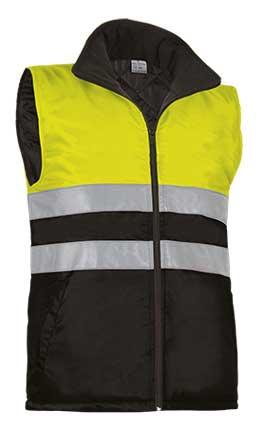 Chaleco alta visibilidad con bolsillos VALCHVAHIGAN