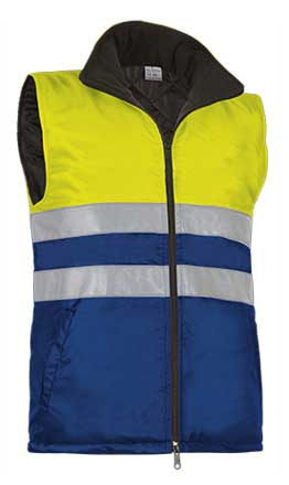 Chaleco alta visibilidad con bolsillos VALCHVAHIGAZ