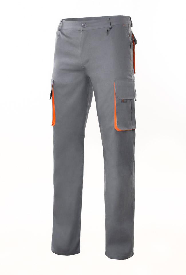 Pantalón Velilla Bicolor Multibolsillos con Refuerzo de Tejido