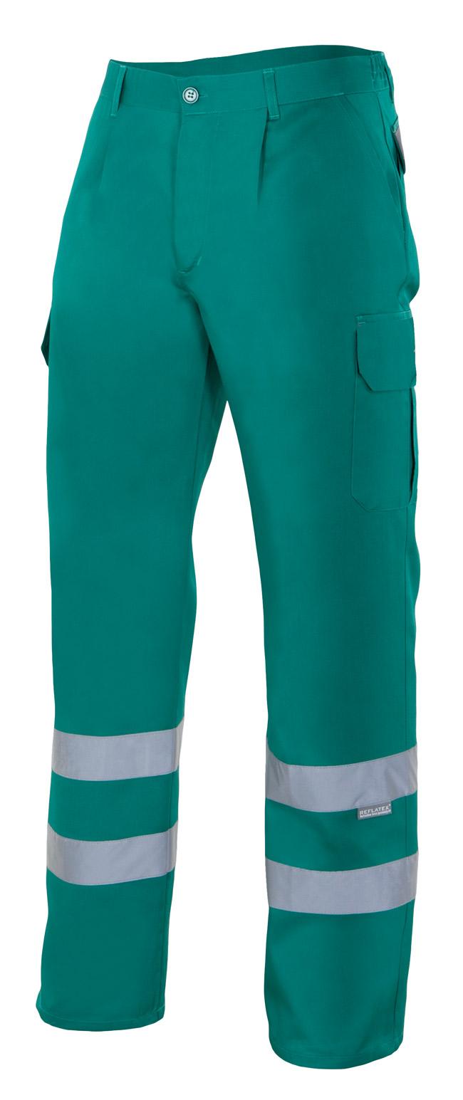Pantalones de trabajo con Cintas Reflectantes