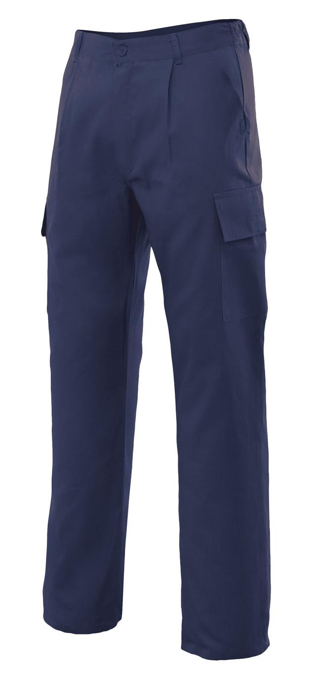 Pantalones de trabajo multibolsillos VEL316011
